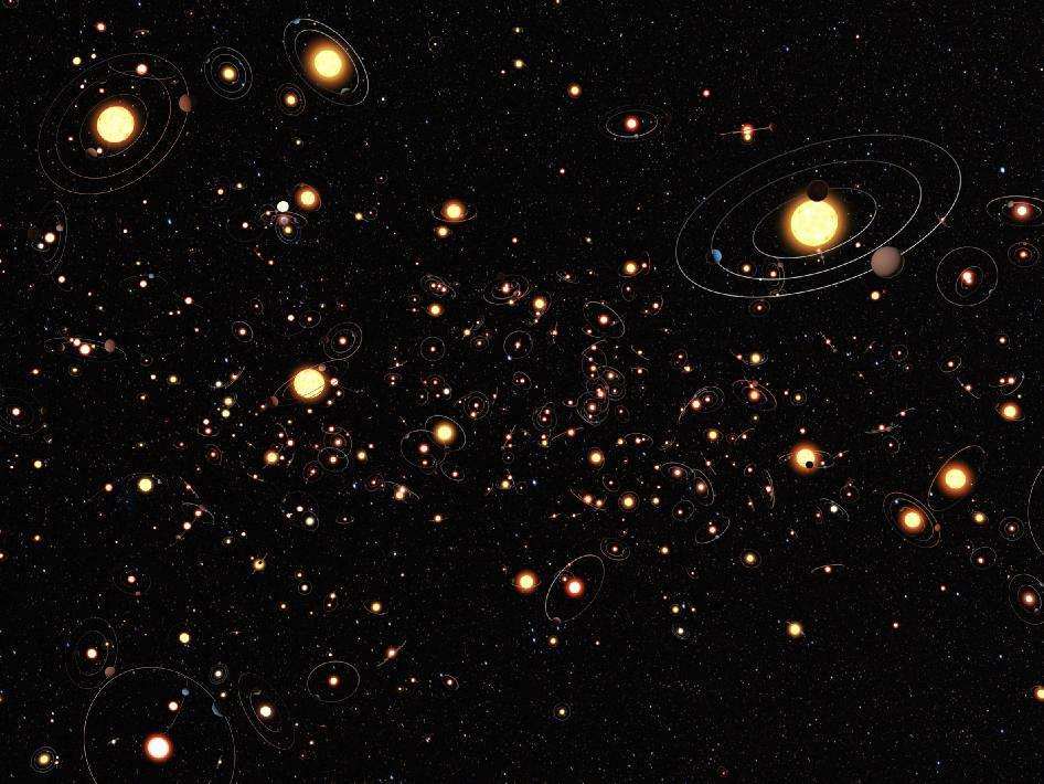 Planets more common than stars