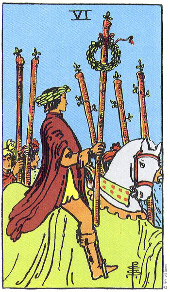 Six of Wands Tarot Card