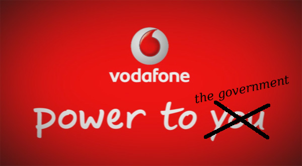 Vodafone confirms Government eavesdropping