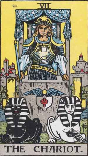 Tarot Card of The Chariot