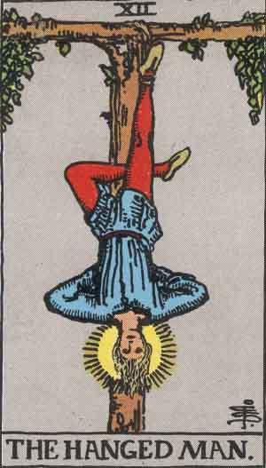 The Hanged Man - Tarot
