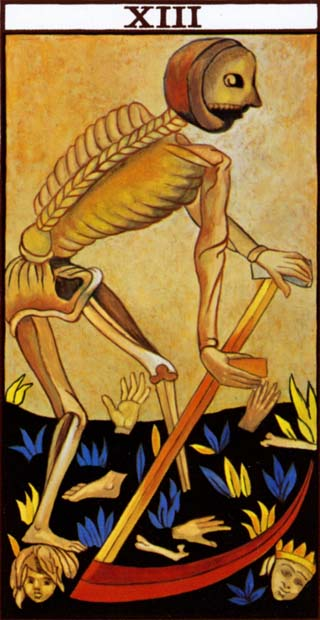 Death 13th Card in the Tarot