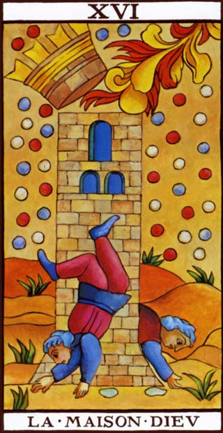 The Tower in the Marseilles tarot