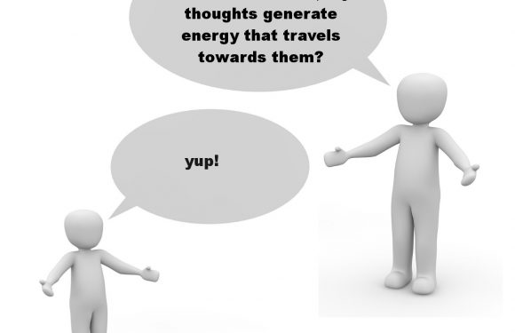 Our thoughts affect others