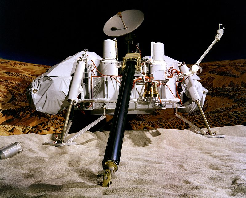Artist impression of Viking Lander - NASA