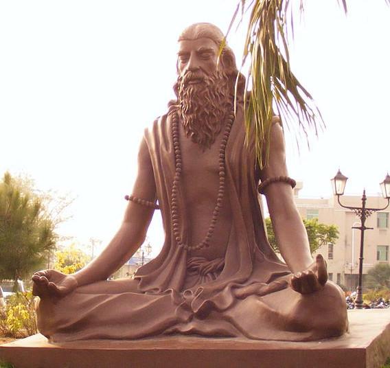 Patanjali - in dhyana (meditation)