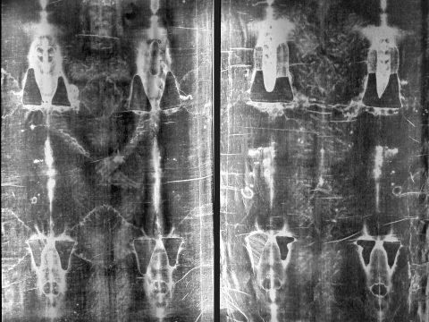 Shroud of Turin Negatives